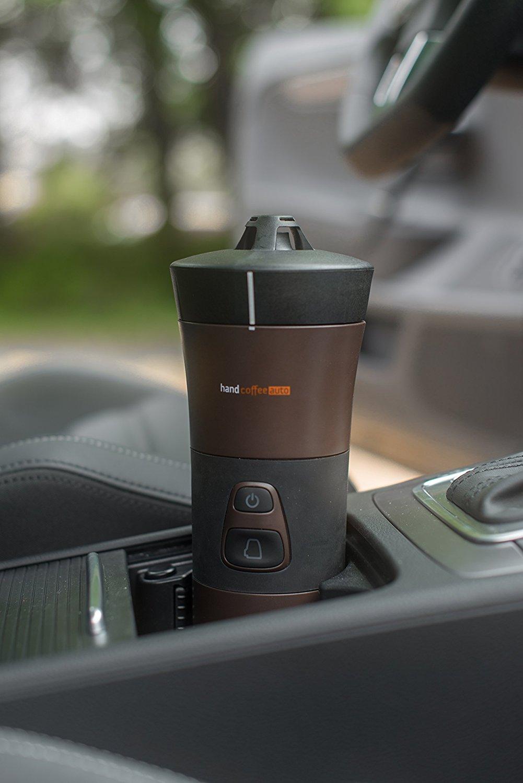 handcoffee auto mobile kaffeemaschine f r kaffeepads 12. Black Bedroom Furniture Sets. Home Design Ideas